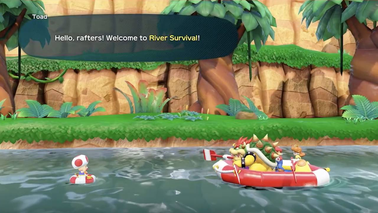 Super Mario Party River Survival Mode
