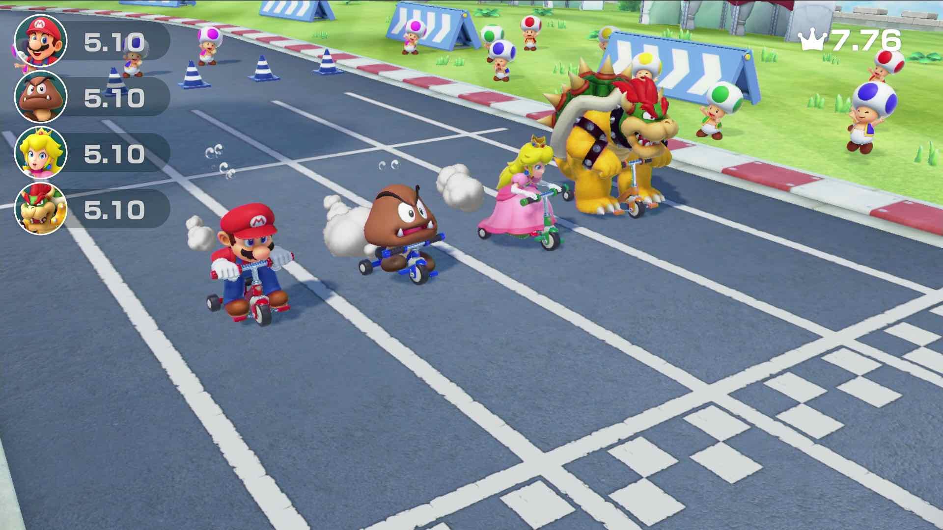 Trike Harder Super Mario Party Screenshot