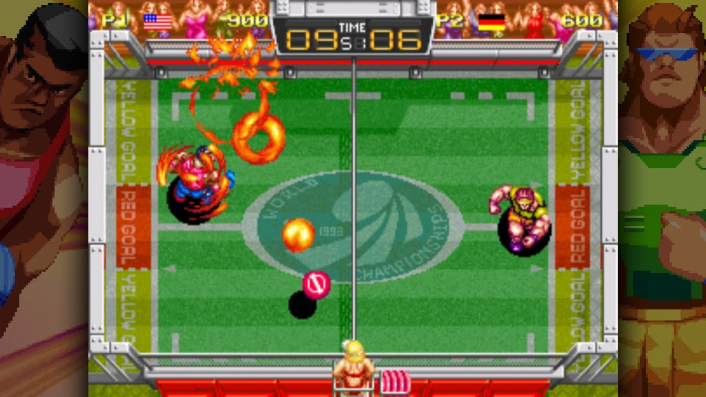 Windjammers Screenshot