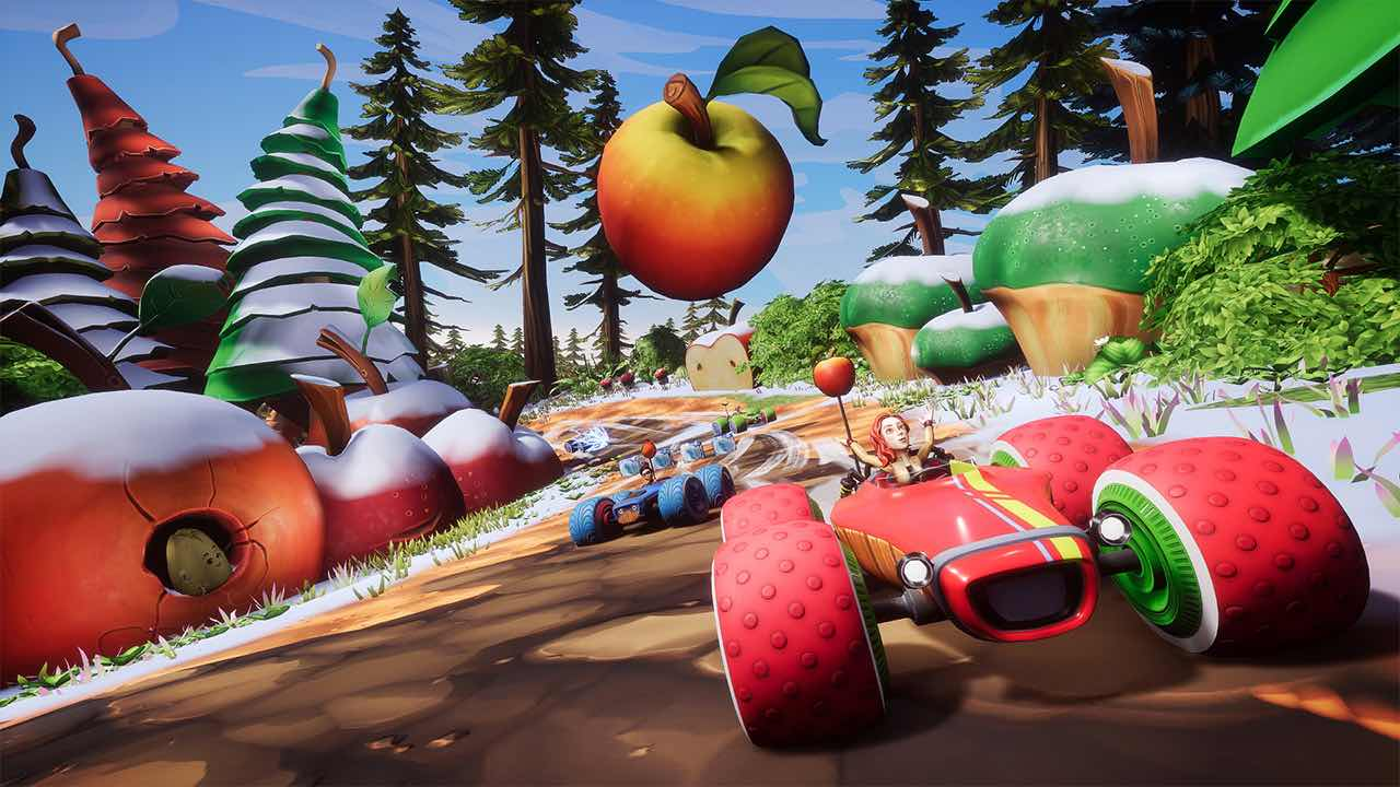 All-Star Fruit Racing Screenshot