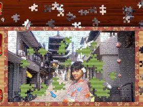 Animated Jigsaws: Japanese Women Screenshot