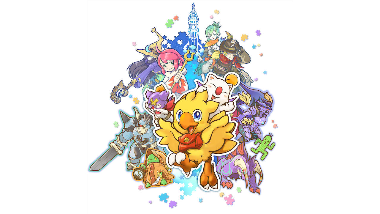 Chocobo's Mystery Dungeon EVERY BUDDY! Artwork