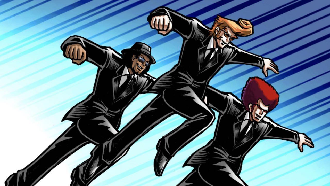 [Análise Retro Game] - Trilogia Osu 2/3 - Nintendo DS/3DS Elite-beat-agents-artwork