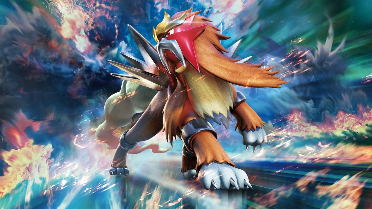 Entei Pokémon TCG: Sun And Moon - Lost Thunder