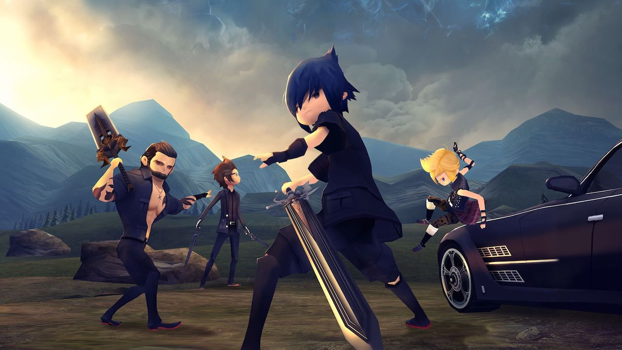 Final Fantasy XV Pocket Edition HD Review Header