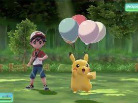 Floaty Fall Pokémon Let's Go Pikachu Screenshot