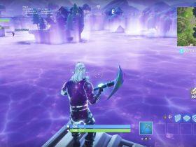 Fortnite Purple Cube Loot Lake Screenshot