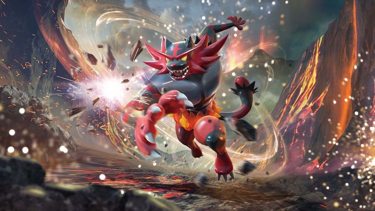 Incineroar Artwork