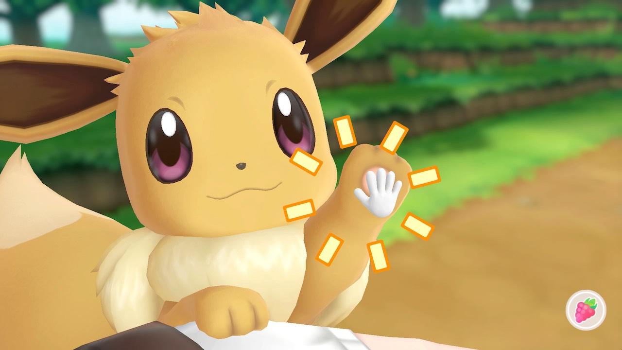 Interaction Pokémon Let's GO, Eevee! Screenshot
