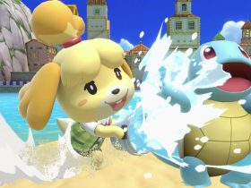 Isabelle Super Smash Bros. Ultimate Screenshot