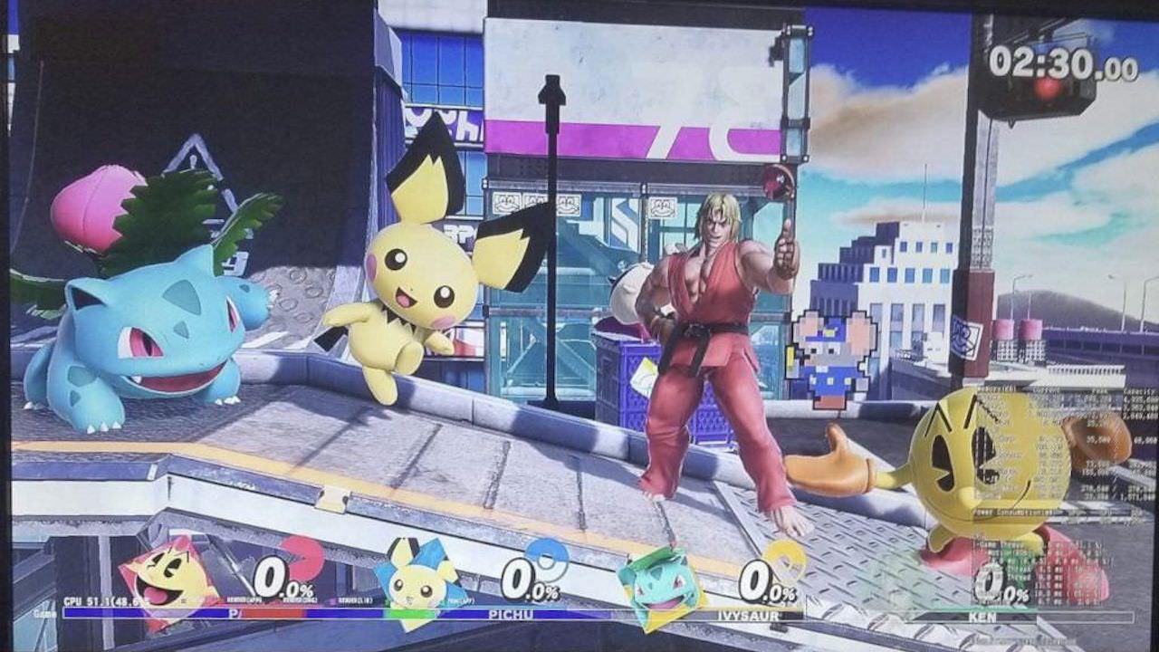 Ken Leak Super Smash Bros. Ultimate Screenshot