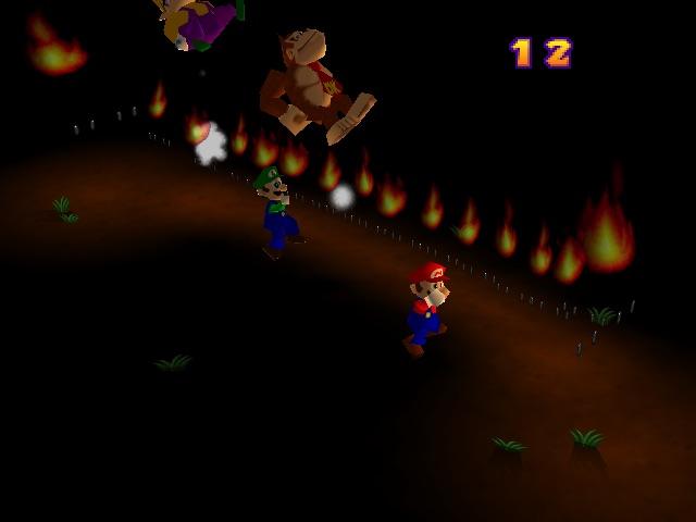 Mario Party 2 Hot Rope Jump Screenshot