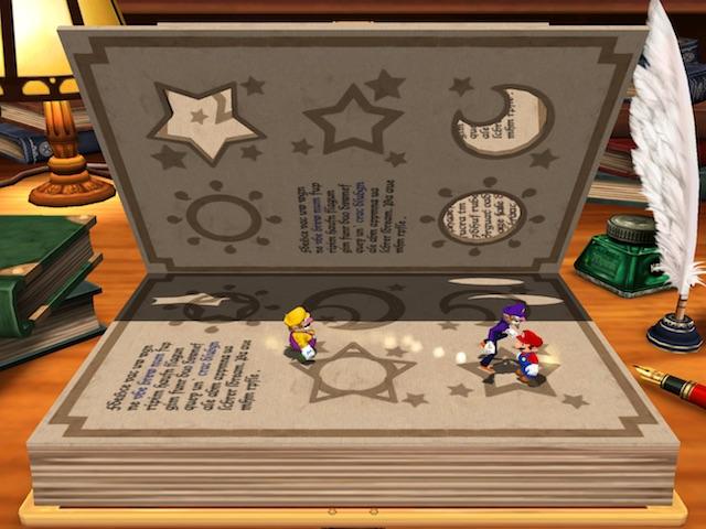 Mario Party 4 Booksquirm Screenshot