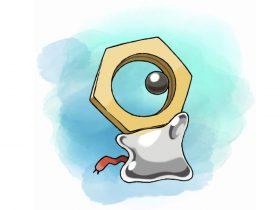Meltan Pokémon Let's Go Pikachu Eevee Artwork
