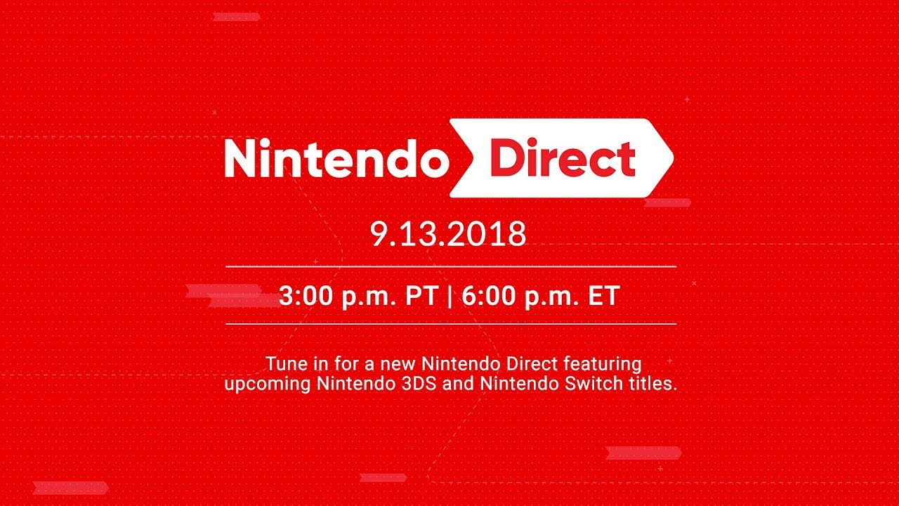 Nintendo Direct 13 September 2018 Logo