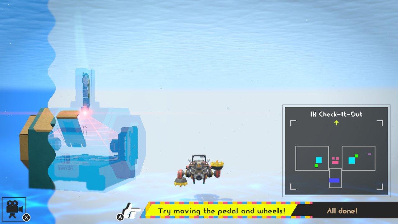 Nintendo Labo Toy-Con 03: Vehicle Kit Review Screenshot 3
