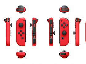 Red Nintendo Switch Joy-Con Photo