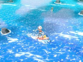 Sea Skim Pokémon Let's Go, Pikachu! Screenshot