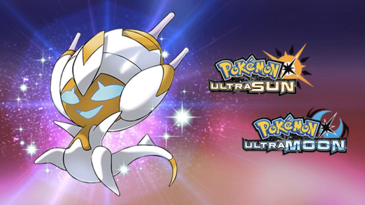 Shiny Poipole Pokémon Ultra Sun Moon