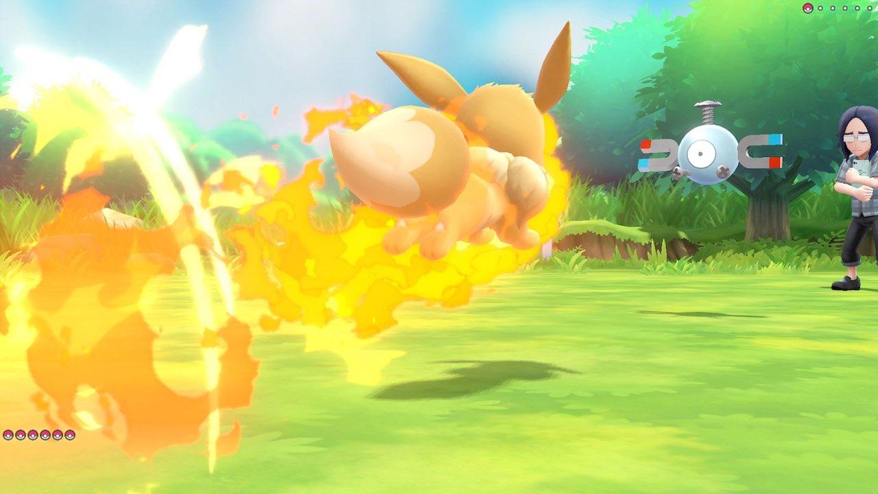 Sizzly Slide Pokémon Let's GO, Eevee! Screenshot