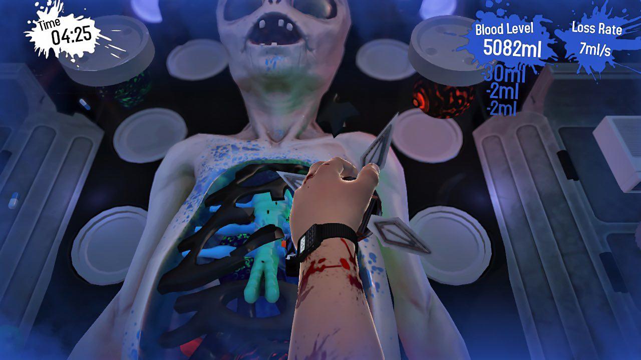Surgeon Simulator CPR Screenshot