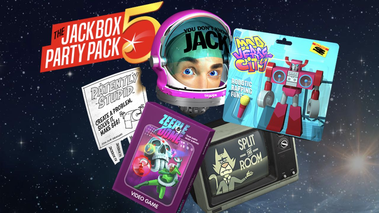 The Jackbox Party Pack 5 Review Header