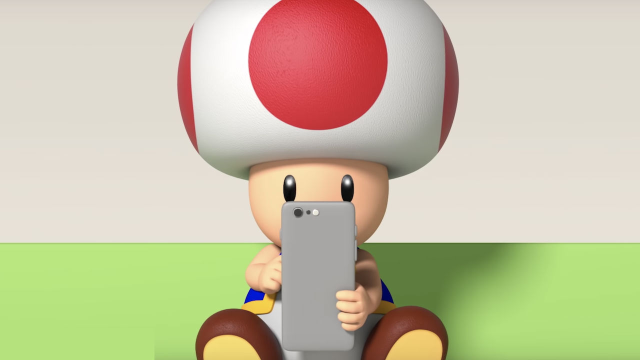 Toad Nintendo Switch Online App