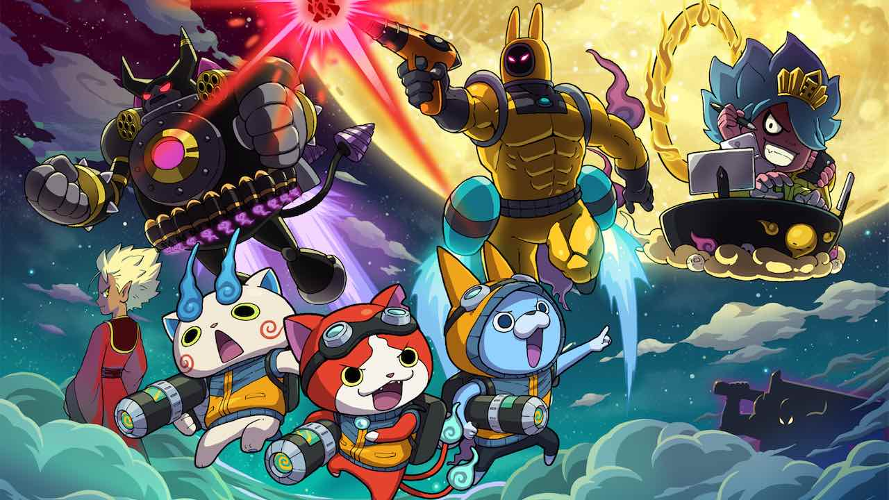 Yo-kai Watch Blasters Moon Rabbit Artwork