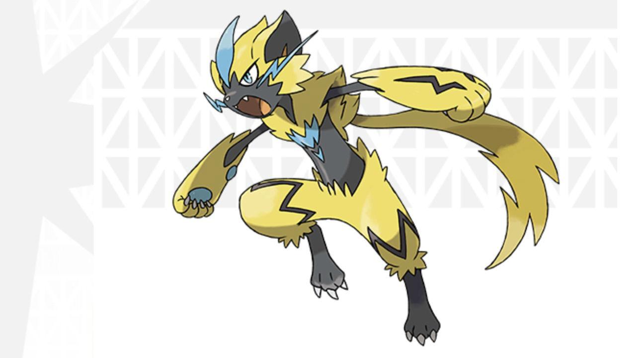 Zeraora Pokémon Artwork