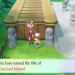 Charizard Master Trainer Pokémon Let's Go Screenshot