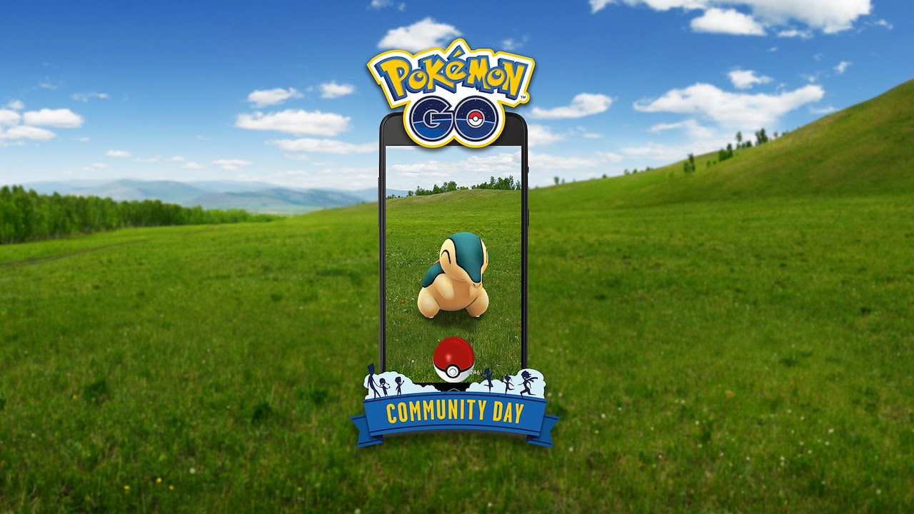 Cyndaquil Pokémon GO Community Day Screenshot
