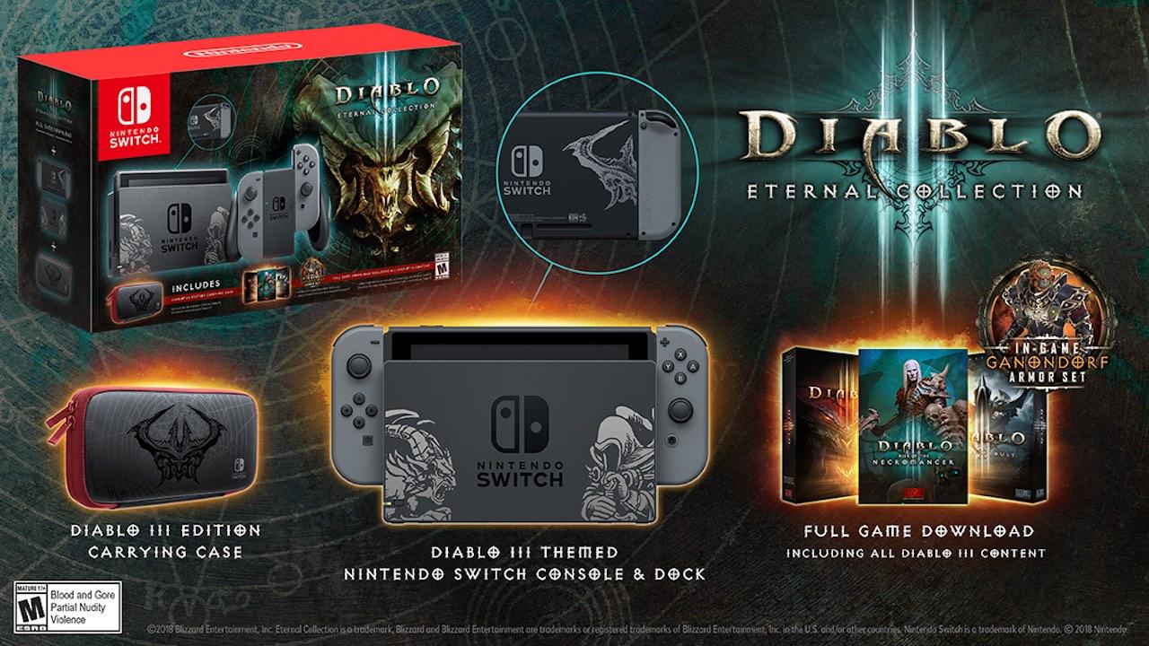 Diablo III: Eternal Collection Nintendo Switch Bundle