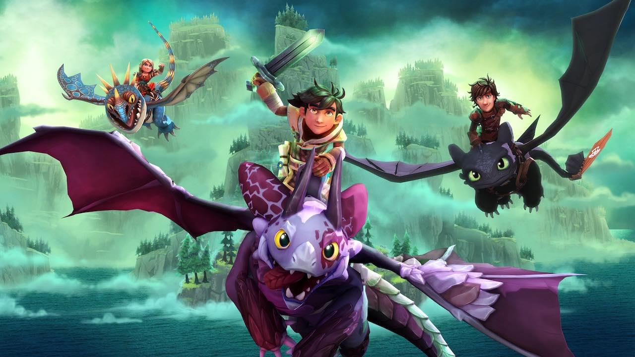 DreamWorks Dragons Dawn Of New Riders Key Art