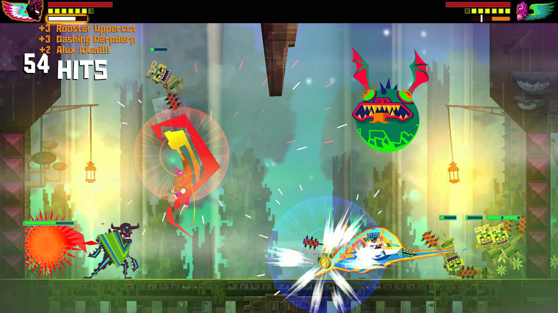 Guacamelee! Super Turbo Championship Edition Review Screenshot 2