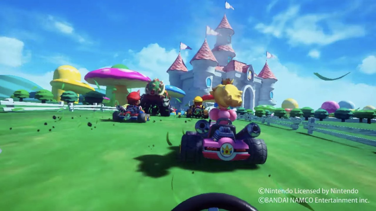 Mario Kart VR Screenshot
