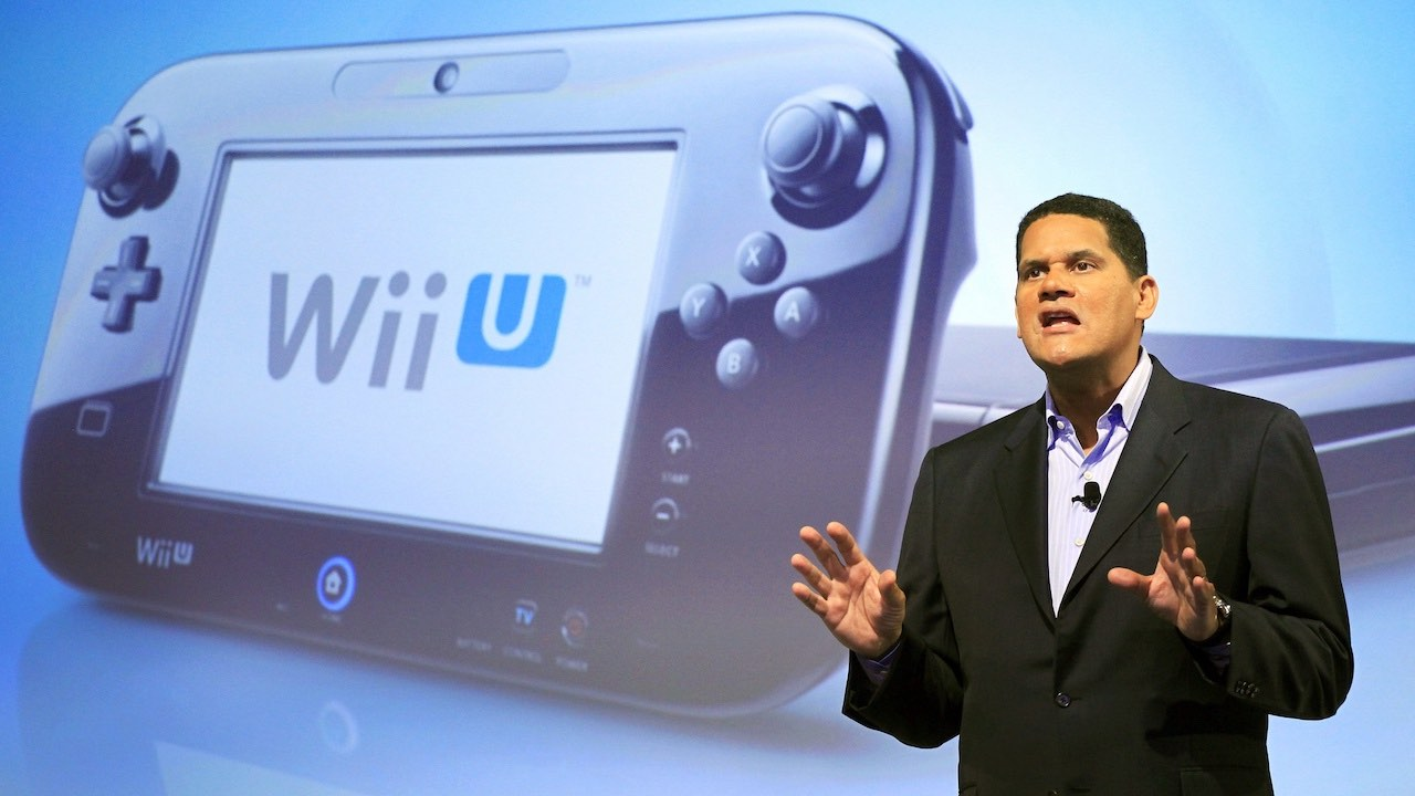 Reggie Fils-Aime Wii U Photo