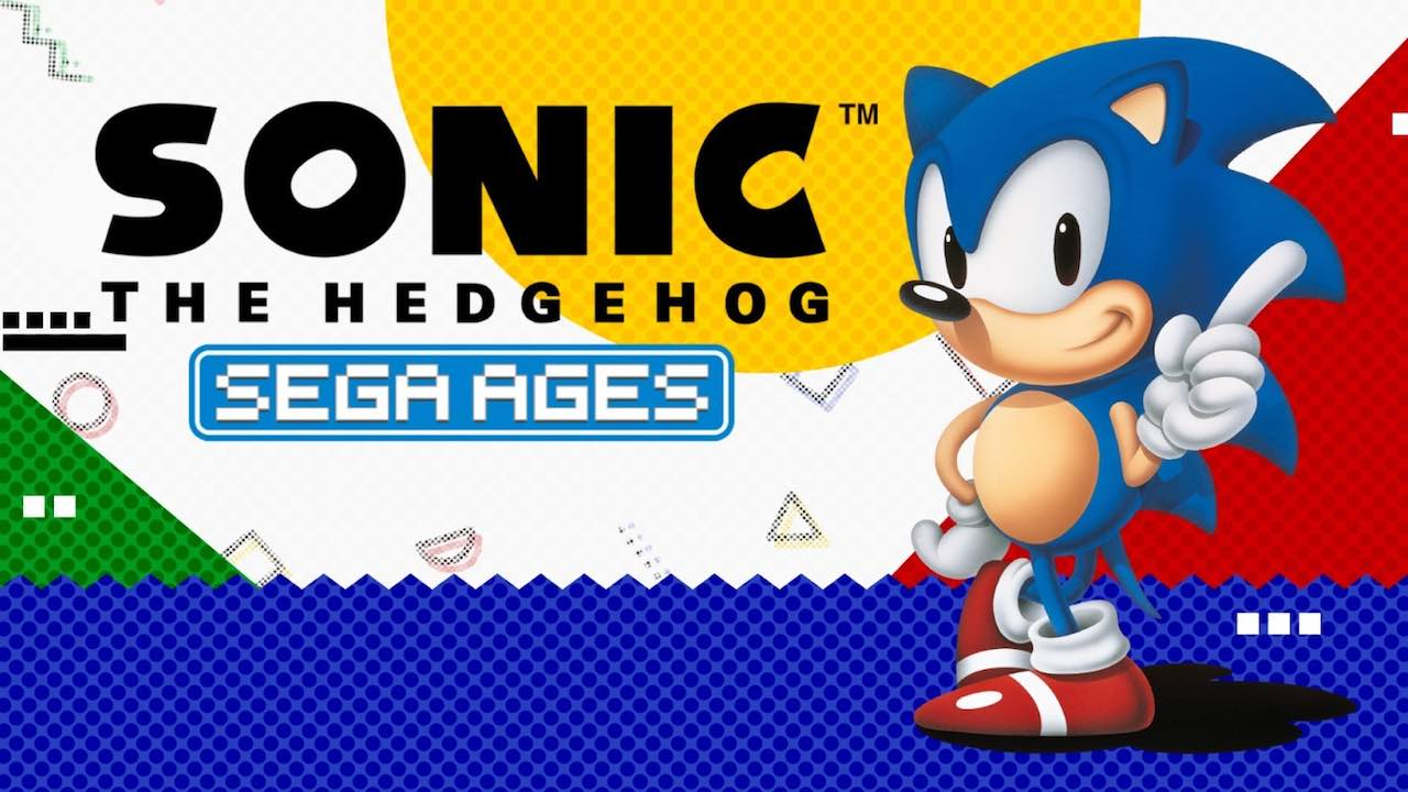 SEGA AGES Sonic The Hedgehog Review Header