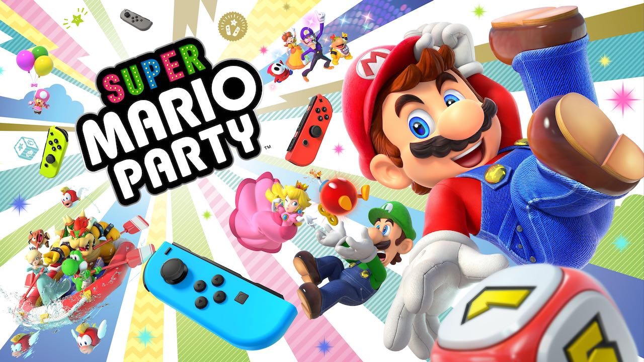 Super Mario Party Review Header