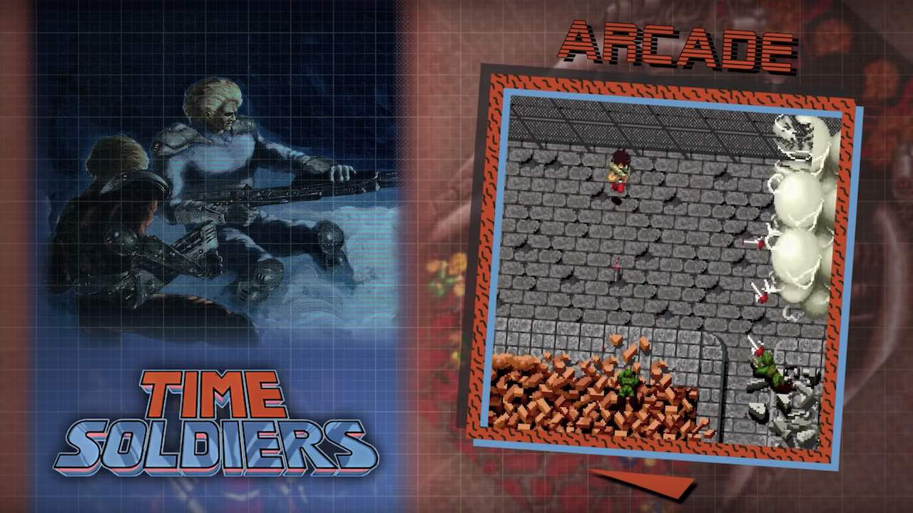 Time Soldiers SNK 40th Anniversary Collection Screenshot