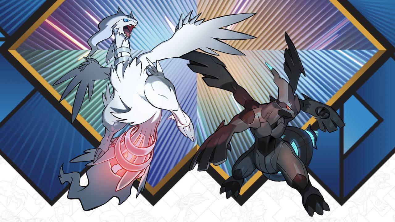 Zekrom Reshiram Distribution Event Artwork
