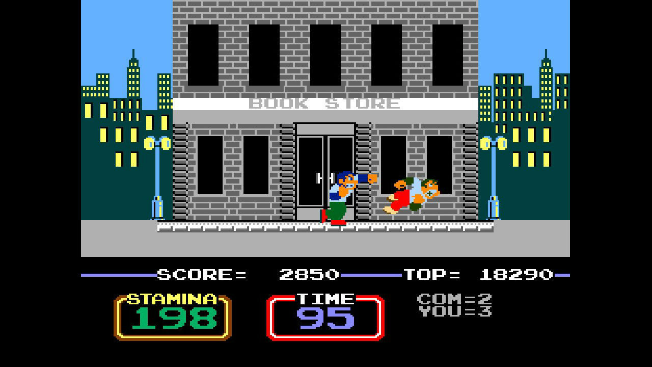 Arcade Archives Urban Champion Screenshot