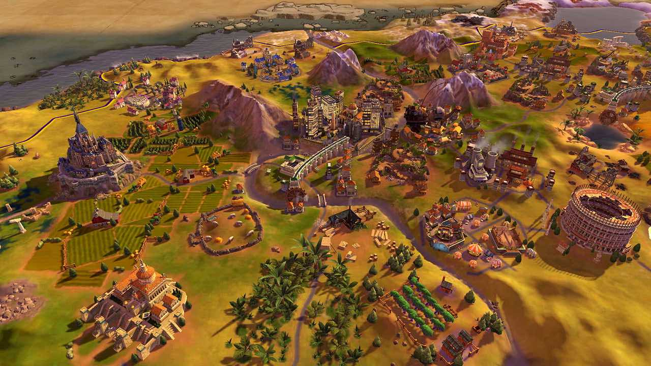 Civilization 6 Switch Screenshot
