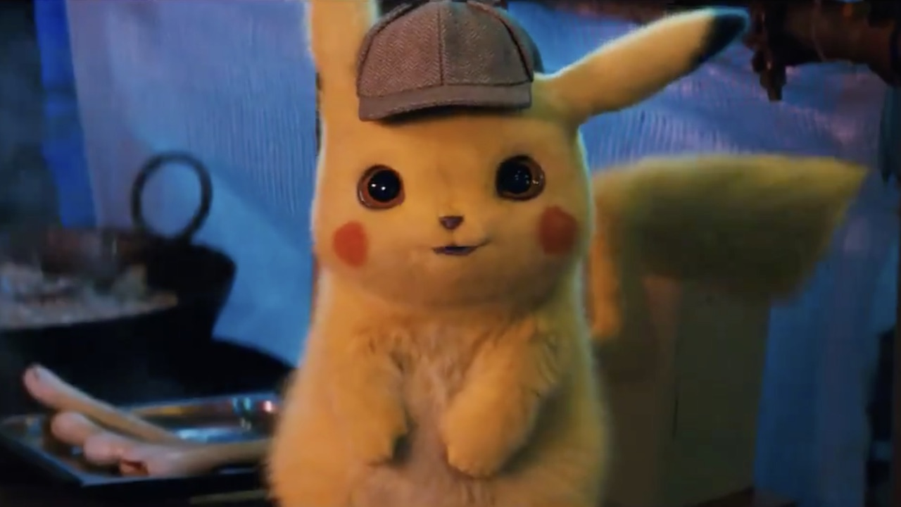 Detective Pikachu Movie Screenshot