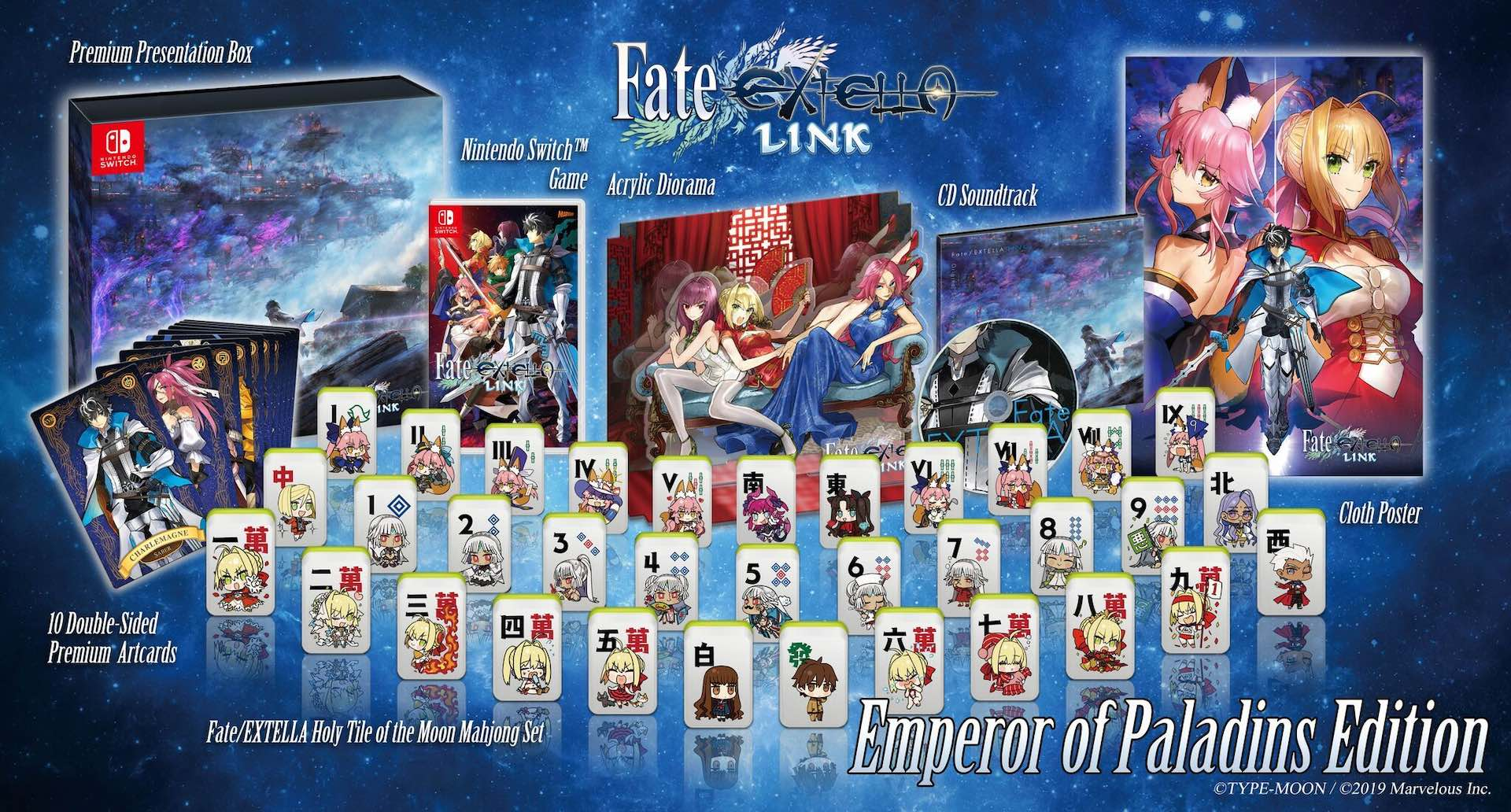 Fate/EXTELLA LINK Emperor of Paladins Edition Photo
