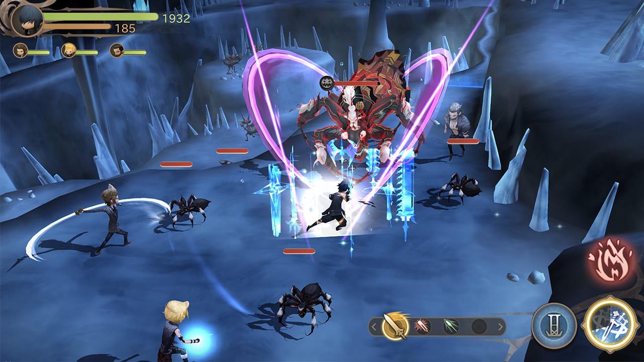 Final Fantasy XV Pocket Edition HD Review Screenshot 2