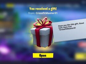 Fortnite Gifting Screenshot