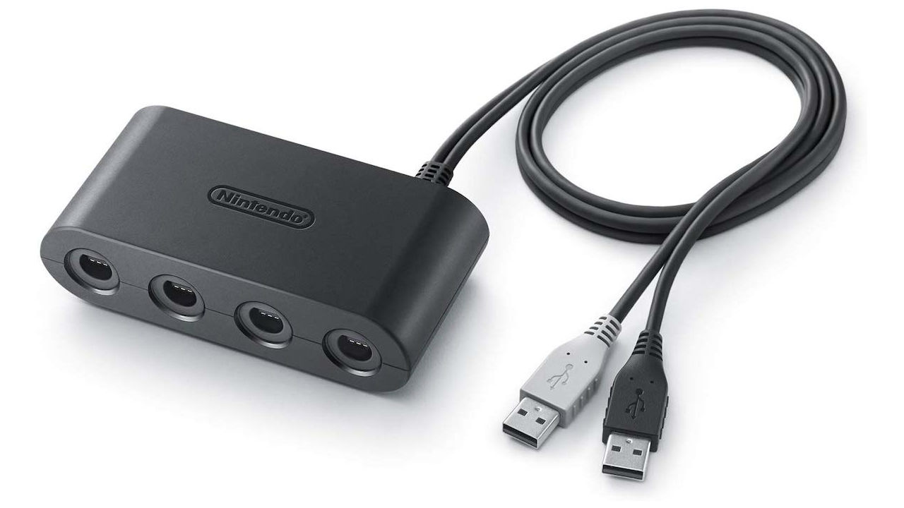 GameCube Controller Adapter Switch Photo