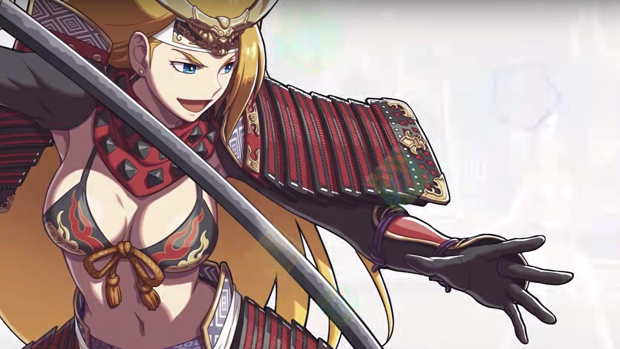 Jeanne SNK Heroines: Tag Team Frenzy Key Art