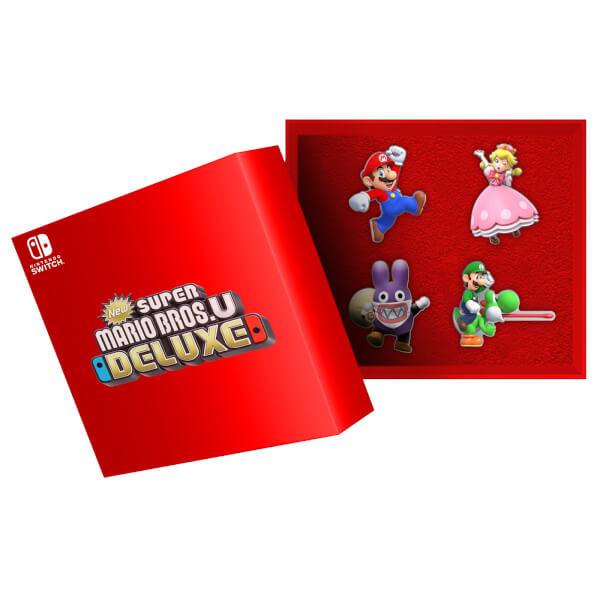 New Super Mario Bros. U Deluxe Pin Badge Set