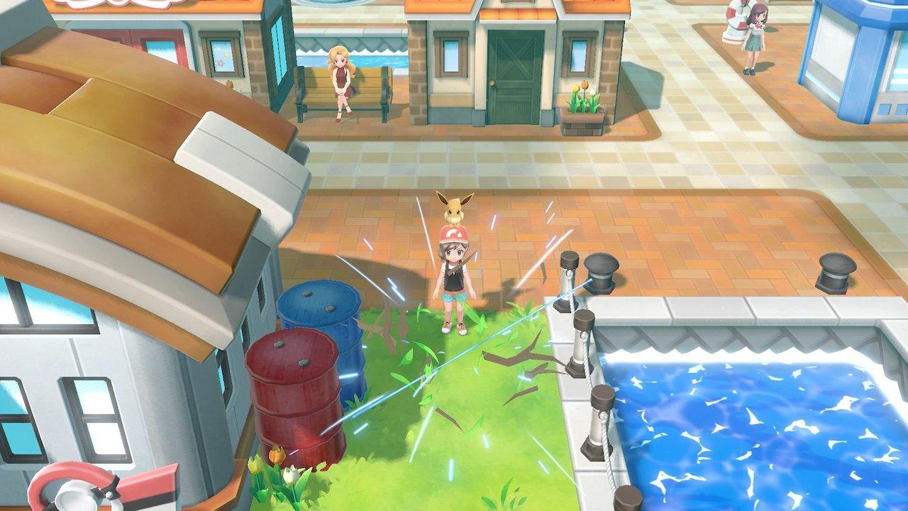 Pokémon Let's Go Chop Down Screenshot